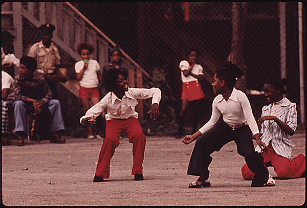 black chicago dancing in the streets 1973